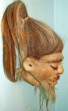 Shrunken Head at Semmelweiss Medical Museum by Curious Expeditions