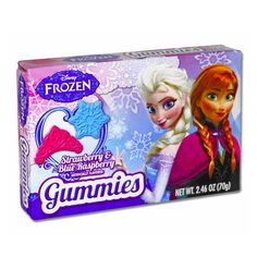 Frozen gummy candy shaped like snowflakes and tiaras Contains 3 bags per box with 4 to 5 candies per bag Strawberry and blue raspberry flavors Each candy measures W x L Contains ounces By Disney Disney Candy, Disney On Ice, Disney Frozen, Kids Toy Shop, Toy Cars For Kids, Frozen Themed Birthday Party, Frozen Party, 25th Birthday, Birthday Ideas