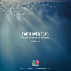 Faith over Fear...