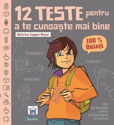 12 Teste pentru a te cunoaste mai bine. Copper, Comic Books, Pdf, Comic Strips, Cartoons, Comic Book, Comics, Graphic Novels, Brass