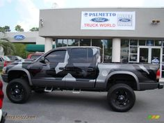 lifted dodge dakota truck | Dodge Dakota SLT Quad Cab 4x4