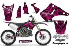 Pink 250cc dirt bike. i could ride amazing with this(: <3 // caasi P. #TheBlingRing #PinToWin
