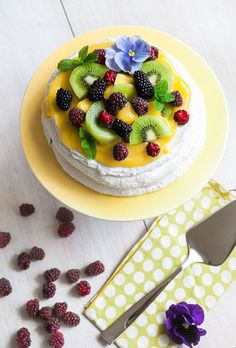 I cannot imagine Christmas in New Zealand without Pavlova dessert. Snowy white crispy meringue shell surrounding a marshmallow center, topped with clouds of whipped coconut cream, mango coulis, and mountains of fruits. Sour fruits such as kiwi and berries are very welcome here. They bring balance and reduce the sweetness. If you …