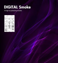 Digital Smoke - Free PhotoShop brushes