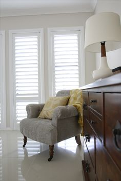 Classic Blinds, Shutters, Accent Chairs, Furniture, Home Decor, Classic Roller Blinds, Blinds, Upholstered Chairs, Shades
