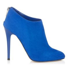 JIMMY CHOO Rooney Aegean Suede Ankle Boots  ᖽ•Ꮰ੬ℕട❜̋ᗷѳꂷɬίǪṳ̈ℯ•ᖾ
