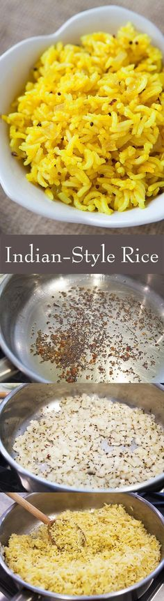 Aromatic basmati rice, cooked with onions and flavored with cloves, cinnamon, cardamom, cumin, mustard seed, chili and turmeric. Delicious!!! And healthy too. Perfect with curry and Indian dishes.