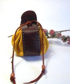 Leather purse mens purse woman purse leather wallet by EnCuero