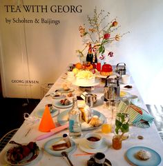 Tea with Georg by Scholten & Baijings and Georg Jensen at Rossana Orlandi