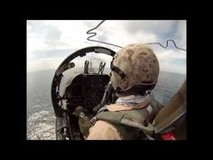 Awesome Jet Pilot Perspective: Harrier Flight Operations - YouTube