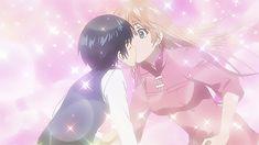 The world is still beautiful #anime #kiss | Tumblr