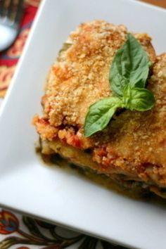 Comfort Food Eggplant Casserole