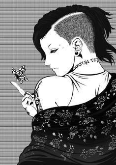 Uta                                                                                                                                                     Plus Kaneki, Cute Anime Boy, Anime Love, Anime Guys, Dark Drawings, Amazing Drawings, Manga Art, Manga Anime, Anime Art
