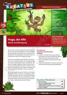 Hugo, der Affe - Musik und Bewegung - Seite 1