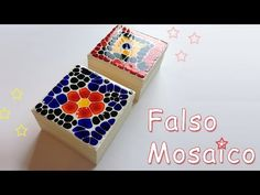 In this video tutorial I show you step by step how to make a False mosaic with glass paint in a box cover – Ana Mosaic Rocks, Craft Sites, Decoupage Tutorial, Arts And Crafts, Diy Crafts, Mosaic Crafts, Diy Recycle, Coffee Art, Altered Art