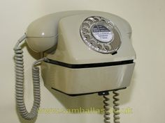 Compact Telephone with wall bracket