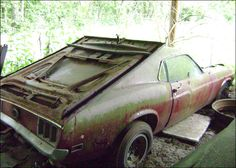 barn find cars pics | Tennessee Barn Find Mustang