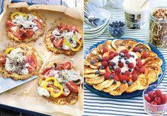 Hovedprinsippet med lavkarbo er å få kroppen din til å forbrenne lagret fett. Omelette, Bruschetta, Lchf, Scones, Waffles, Sandwiches, Protein, Berries, Low Carb