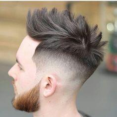 Beard Styles For Men, Hair And Beard Styles, Hair Styles, Mens Fashion, Hairstyles Men, Hair Beauty, Men's Hair, Hair Colors, Hair Cuts
