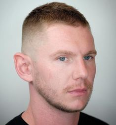 High and Tight with Facial Hair