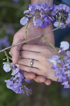 country wedding wisteria engagement ring flowers www.gretchenbyers.weebly.com