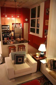 Tienes una cocina pequeña y no sabes cómo decorarla, aquí vemos algunos trucos…