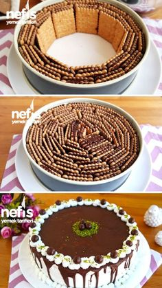 Yummy Recipes, Dessert Recipes, Cooking Recipes, Yummy Food, Pastry Recipes, Sweet Desserts, Sweet Recipes, Flaky Pastry, Biscuit Cake