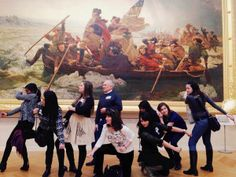 @MuseumHack :/Row, row, row your boat/ Classic #MuseumHack at the Met! pic.twitter.com/A0tjt1l4Ls