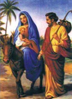"""A imagem de Nossa Senhora do desterro narra um fato que aconteceu com Sagrada família, conforme lemos no Evangelho de São Mateus 2, 13-23. O fato se refere à fuga da Sagrada Família para o Egito. Por isso, ela também é conhecida como """"Nossa Senhora da Fuga"""". A palavra """"desterro"""" significa exílio, banimento, ficar sem a terra natal. Foi exatamente isso que a Sagrada Família viveu quando teve que fugir para o Egito por causa da perseguição do rei Herodes."""