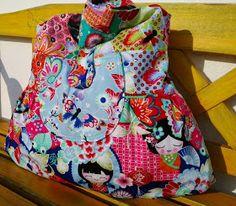 #Isabella Citybag nach dem #farbenmix Schnitt von der wundervollen #jolijou aus dem neuen Lieblingsstoff