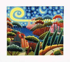 Luca Dall'Olio... magical use of colours!