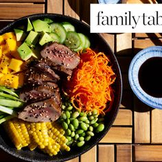 Kosher Food List, Steak And Rice, How To Cook Beef, Toasted Sesame Seeds, Poke Bowl, Sweet Sauce, Hoisin Sauce, Good Enough To Eat, Light Recipes