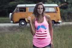 Lady America Tank
