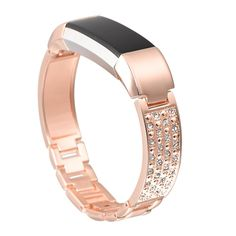 "bayite Jewelry Bangle For Fitbit Alta, Adjustable Bracelet, 5.5"" - 7.2"" Color: Rose Gold  Size: 5.5"" - 7.2"" Sold by Bayite and Fulfilled by Amazon. Gift-wrap available. Accessorize your tracker with this elegant and stylish fashion accessory band. Comfortable high quality metal design 100% satisfaction and RISK FREE warranty: 1 year free replacement or full refund without return from Amazon (verify in Amazon prior to purchase)             amzn_assoc_ad_type = ""li..."
