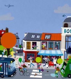 Le Paris des souris by Vincent MATHY, via Flickr