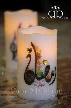 Candels to Ramadan by Ruaa Rose Ramadan Activities, Ramadan Crafts, Ramadan Decorations, Display Pictures For Whatsapp, Ramzan Wallpaper, Ramadan Mubarak Wallpapers, Decoraciones Ramadan, Islamic Events, Eid Cards