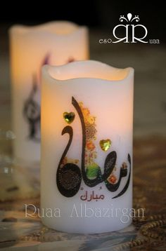 Candels to Ramadan by Ruaa Rose