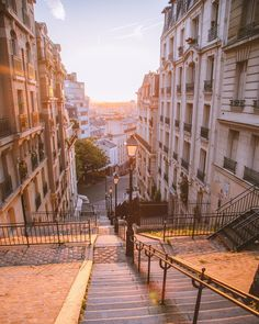 Early morning in Montmartre