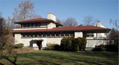 Фрэнк Ллойд Райт (Frank Lloyd Wright): Ferdinand F. Tomek House (The Ship House), Riverside, Illinois (Дом Ф.Ф. Томека, Риверсайд, Иллинойс ), 1904—1906