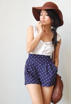 a vintage outfit post | polka dots (yes, again!) it's kind of an obsession