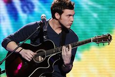 PHILLIP PHILLIPS love his voice and I love the way his feet move when he sings! I love how humble he is and how he won't let anyone change who he IS
