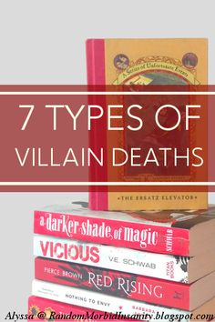 7 Types of Villain Deaths: Which is the best of them? Wouldn't mind reading more of the site as well.