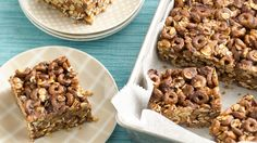 These no-bake cereal bars are just as indulgent as a cookie and perfect for a snack.