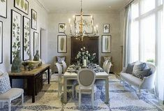 Home Design | Interior Decor | Home Furniture | Architecture | House Garden: Luxury French Country Style Dining Room Decorating Ideas 2011