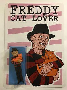 Wizard Skull — Freddy Cat Lover Figure