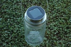 When the words mason jar & solar lamp come together in the same sentence, I don't care who you are — you get excited. Because this jar is awesome. And...