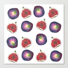 Buy Figs Canvas Print by bridgetdavidson. Worldwide shipping available at Society6.com. Just one of millions of high quality products available.