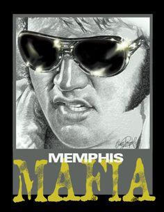 MEMPHIS MAFIA Artwork by Betty Harper..bettyharper.com