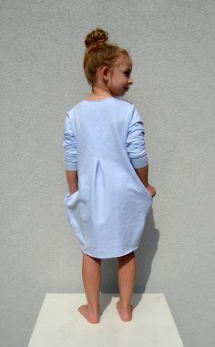 Kleider - Sweatshirt Kleid  - ein Designerstück von millupa bei DaWanda