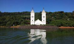 Igreja submersa Itá/SC.